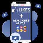 Likes para Publicaciones / Vídeos + Reacciones GRATIS