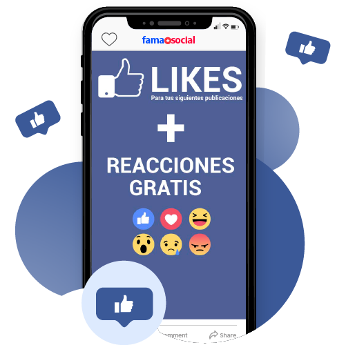 Likes para Publicaciones / Vídeos + Reacciones GRATIS [En Mantenimiento]