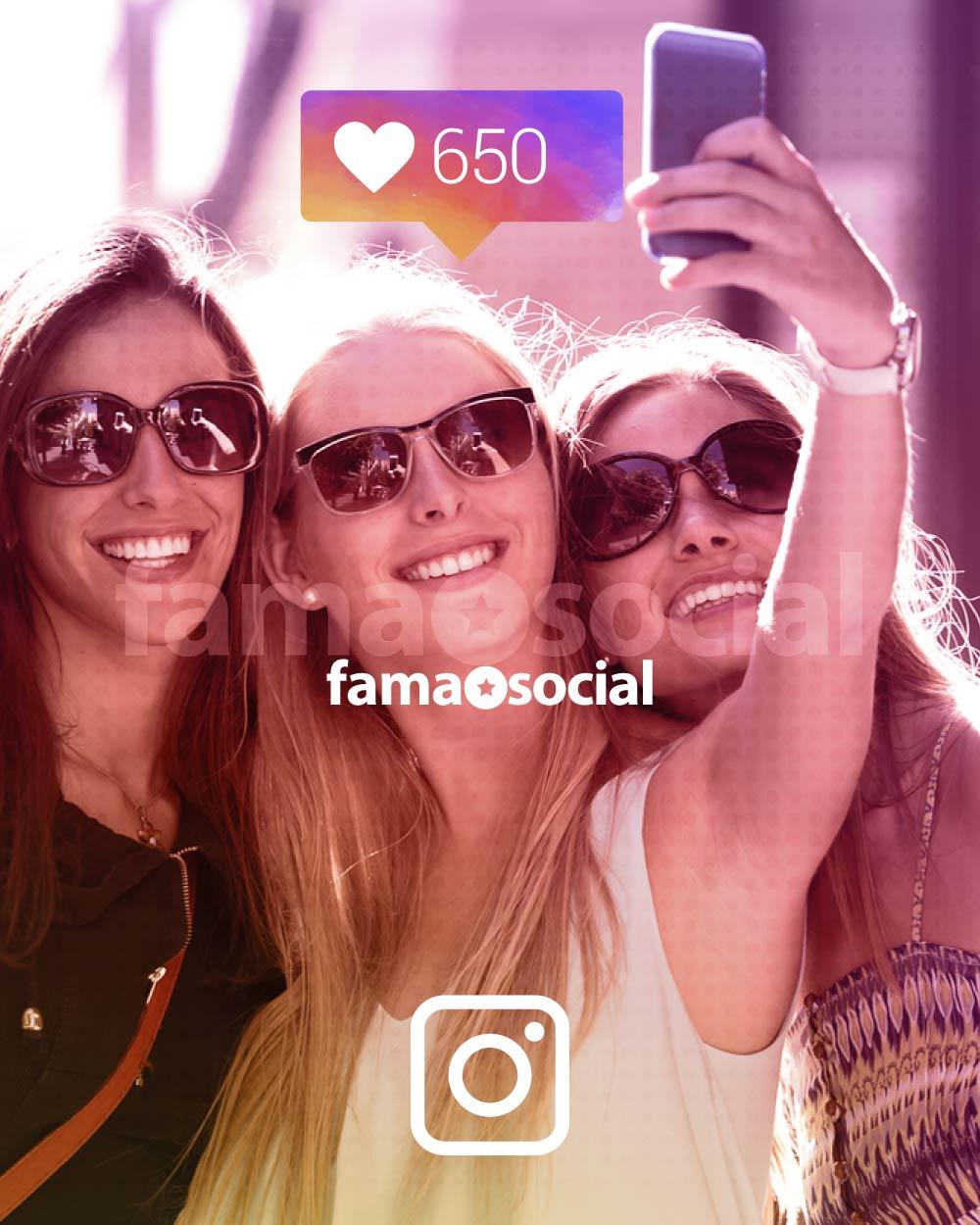 650 Likes para tus fotos ya cargadas en Instagram